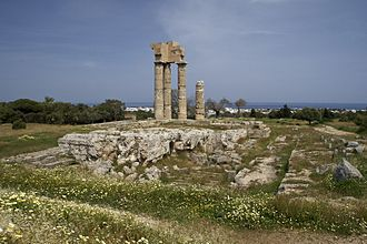 Acropolis of Rhodes - Temple of Apollo