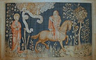 Apocalypse Tapestry - Image: Tenture Apocalypse Angers cavalier 3