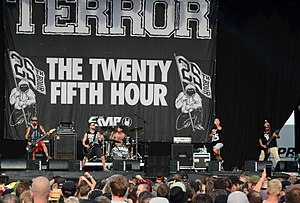 Heavy hardcore - Heavy hardcore band Terror performing