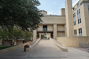 Sid W. Richardson - The Sid W. Richardson Building on the campus of Texas Christian University in Fort Worth, Texas.