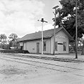 Texas and New Orleans, Southern Pacific Railroad Station, Marble Falls, Texas (21065379463).jpg