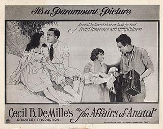<i>The Affairs of Anatol</i> 1921 film