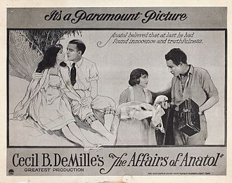 The Affairs of Anatol - Lobby card for The Affairs of Anatol