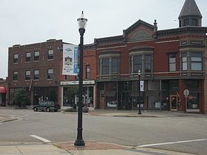 Benton Harbor, Michigan - Arts district downtown