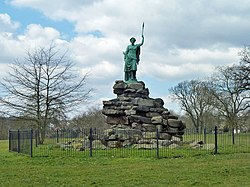 The Bringer of Peace, Friary Park (geograph 5291737).jpg