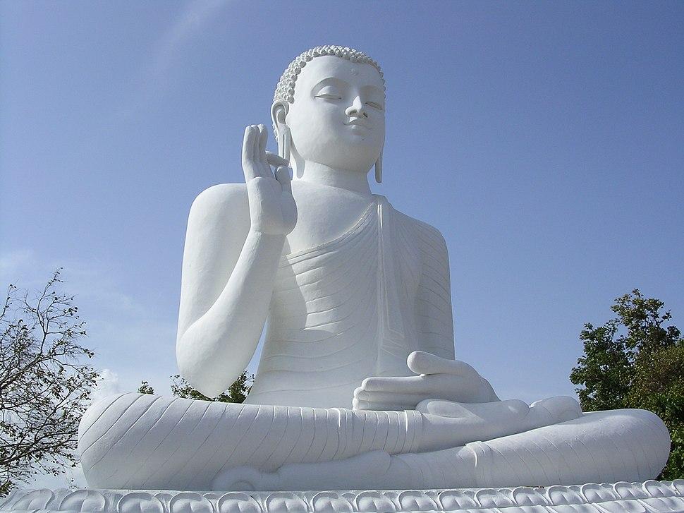 The Buddha at Mihintale, Sri Lanka