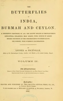 The Butterflies of India, Burmah and Ceylon Vol 2.djvu