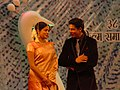 The Chief Guest and renowned actor Shahrukh Khan with Priyamani, actress at the inauguration of the 38th International Film Festival of India (IFFI-2007) at Panaji, Goa on November 23, 2007.jpg