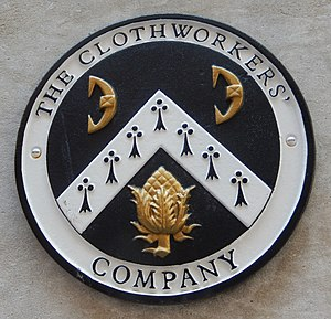 Worshipful Company of Clothworkers - The Company crest