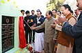 The Defence Minister, Shri A. K. Antony inaugurating the new office complex 'Dunagiri' of National Institute of Mountaineering (NIM) at Uttarakashi, Uttrakhand on October 30, 2007.jpg