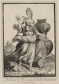 The Dowager Princess of Conti (Marie Anne de Bourbon, daughter of Louis XIV) as Flora by Robert Bonnart.png