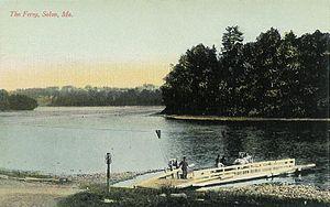 Solon, Maine - Kennebec River c. 1908