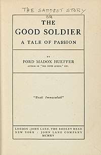 The Good Soldier First Edition, Ford Madox Ford.jpg