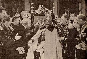 "The Kaiser, the Beast of Berlin - Still of the Kaiser in the ""scrap of paper"" scene"