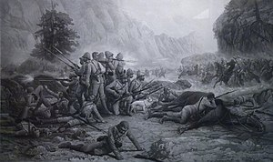 Battle of Maiwand - The Last Eleven at Maiwand by Frank Feller