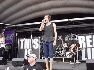 The Maine (band) - The Maine performing at Warped Tour in Charlotte, NC on July 23, 2009