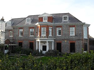 Towner Gallery - The gallery was originally based in Eastbourne's manor house.