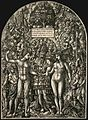The Marriage of Adam and Eve, probably between 1540 and 1555, engraving.jpg