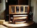 The Parish Church of Broughton St John the Baptist, Organ - geograph.org.uk - 866655.jpg