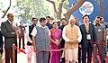 The Prime Minister, Shri Narendra Modi inaugurating an exhibition at the Maritime India Summit, in Mumbai (1).jpg