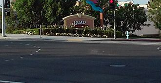 The Quad at Whittier - The front corner of the Quad in Whittier, CA