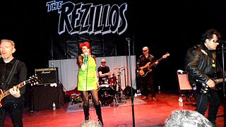 The Rezillos British punk/new wave band