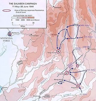 Burma Campaign 1944 - The Salween Campaign, 1944