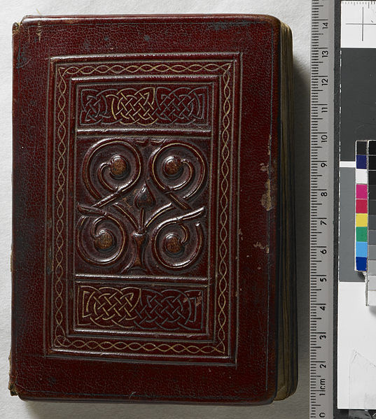 File:The St Cuthbert Gospel of St John. (formerly known as the Stonyhurst Gospel) is the oldest intact European book. - Upper cover (Add Ms 89000).jpg