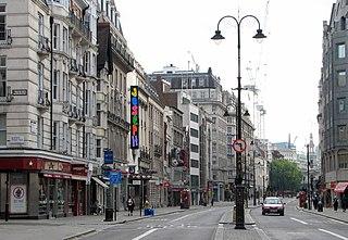 Straße in London
