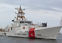 The USCGC Margaret Norvell, delivered to the USCG 2013-03-21, but not yet commissioned