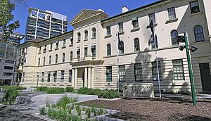 University of Melbourne Faculty of VCA and MCM - The Elisabeth Murdoch Building at the VCA on St Kilda Road