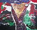 The Victory by Dr. Mostafa Sadek, Acrylic on canvas SKU AXLV1020RBGS 120*100*5 cm النصر د. مصطفى صادق.jpg