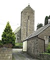 The bell tower of Holy Cross Church, Llannor - geograph.org.uk - 678592.jpg