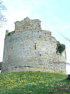Hawarden Castle (medieval) medieval castle in Hawarden, Wales