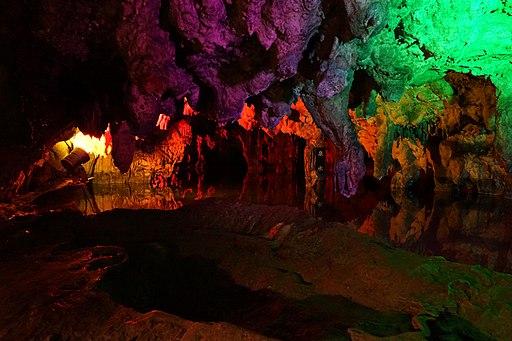The inside of MAKIDOH(limestone cavern)7