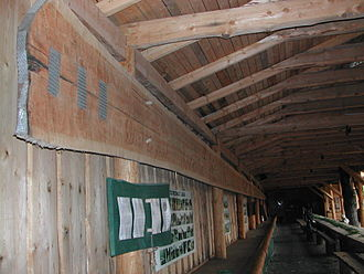 Lumber - The longest plank in the world (2002) is in Poland and measures 36.83 metres (about 120 ft 10 in) long.
