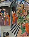The two disciples, Peter and John, are sent to prepare the Passover (f. 32) Cropped.jpg
