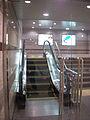 The world's shortest escalator (3696586710).jpg