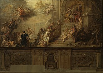 Theodoor van Thulden - Allegorical depiction of the inclusion of 's-Hertogenbosch in the Union