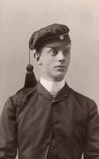 Theodor Frølich - Frølich in 1889, after examen artium