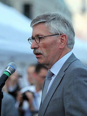 Deutsch: Thilo Sarrazin am 3. Juli 2009