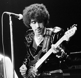 Phil Lynott - Lynott performing in Oslo, Norway on 22 April 1980.