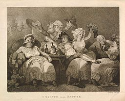 Thomas Rowlandson - A Sketch from Nature