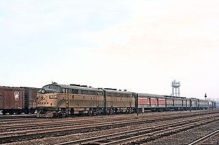 <i>Thoroughbred</i> (train) American passenger train