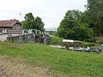Thugny-Trugny, Canal des Ardennes écluse nr 8 (01 bateau entrant eau basse).JPG