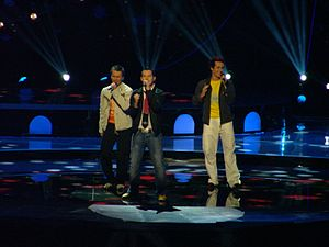 Austria in the Eurovision Song Contest - Image: Tie Break Austria 2004