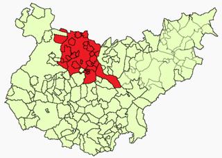 Tierra de Mérida - Vegas Bajas Comarca in Extremadura, Spain