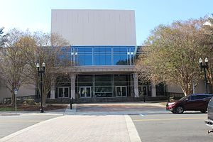 Times-Union Center for the Performing Arts - Image: Times Union Center taken from Jacksonville Landing