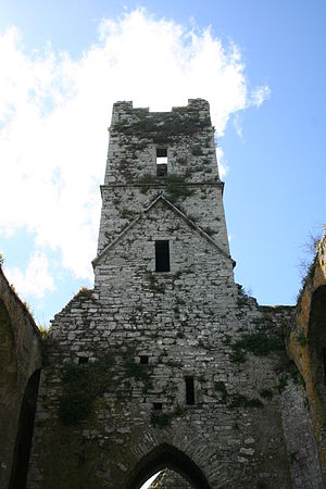 Timoleague Friary - Image: Timoleague Friary Belltower