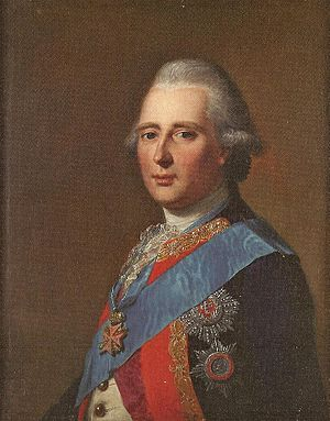Prince Charles of Hesse-Kassel - Prince Charles of Hesse, wearing the sash of the Order of the Elephant
